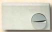 300002 PLACCA BIANCA MANOPOLO CROMATA SERIE 2000 (VERSIONE ORIGINALE)