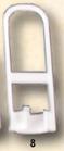 8) 301153 PNEUMATICA DA INCASSO DN 25 mmX H 105 mm