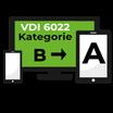 VDI 6022 Upgrade Kat.B zu Kat. A