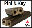 Holzbriketts Pini Kay 960 kg auf Palette