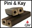 Holzbriketts Pini Kay 23 Paletten á 960kg zu 100% Hartholz