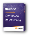 Miete exocad DentalCAD Software Basismodul (Hauptlizenz)