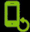 iPhone X/XS Backcover Glas Reparatur