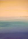 Margit Anglmaier: Meer mit Insel schmal