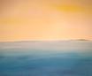 Margit Anglmaier: Meer mit Insel breit