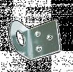 Пробой-ушко 40х75 гнутое