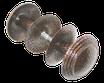 Ручка кнопка РК 2-2 полимер