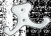 Крючок-вешалка № 21 (полимер)