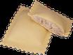 Raviolos de formatge de cabra i ceba confitada