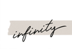 POSTER / INFINITY