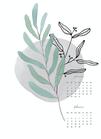 Kalender / BOTANICAL