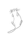 POSTER / ONELINE CAT NO.2