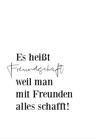 POSTER / FREUNDSCHAFT