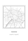 POSTER / MÜNSTER MAP