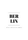 POSTER / BERLIN COOR.