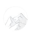 POSTER / MOUNTAIN SKETCH
