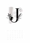 Kalender / BUCHSTABEN
