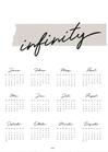 Kalender / INFINITY