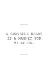 POSTER / GRATEFUL HEART