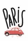 POSTER / CITY CAR PARIS