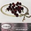 Sandelholz Perlen Rot 6mm