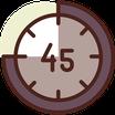 4 Clases de 45 minutos