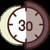 4 Clases de 30 minutos