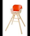chaise haute coloris orange, Plan Toys