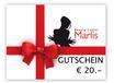 GUTSCHEIN von € 20.-