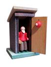 Toilette Weihnachtsmann