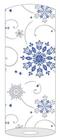 Tischläufer Cristal blau 82798