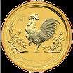 Lunar II Hahn 1 Oz Gold