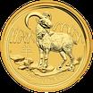 Lunar II Ziege 1 Oz Gold