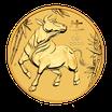 Lunar III Ochse 1/2 Oz Gold 2021