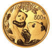 China Panda 2021 Gold 30 Gramm