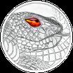 20 Euro Schöpferkraft der Schlange 2021 Silber PP
