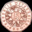 5 Euro Neujahrsmünze - 150 Jahre Musikverein 2020