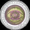 25 Euro NIOB - Der Gläserne Mensch 2020 Silber PP
