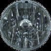 Fanale Vespa PX in vetro.
