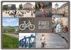 Postkarte FR Dutzend Fahrräder