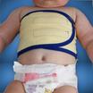 Flauschiges Brustwickeltuch für Babys, Kinder und Erwachsene