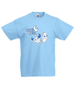Camiseta logo serie para niños