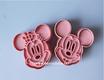 Cortador Mickey Minnie con texturizador