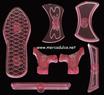 Kit molde Zapato de mujer