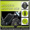 Ombouwset MIDDENMOTOR met Frame-Accu & USB (BBS01B/2016)