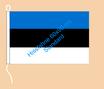Estland / Hißfahne im Querformat