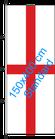 England / Hißfahne im Hochformat
