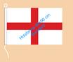 England / Hißfahne im Querformat