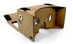 Virtual Reality Display aus Karton (inspiriert von Google Cardboard)