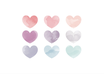 Watercolour Hearts